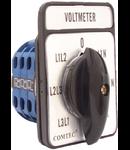 Comutator cu came cheie voltmetrica, 7 POZ.YH5/3-20A