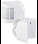 Senzor miscare reglare vert+oriz, in infrarosu cu deschidere 270°, pentru colt, 1200W-ST13B