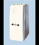 Intrerupator modular cap cruce, alb 1007, STIL