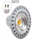SPOT CU LED - 6W GU10 ??? plastic 4500K , MODEL VT-1860