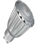 LED Spotlight - 7W GU10 ??? Chip alb cald VT-1809