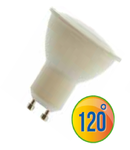 LED Spotlight -  6W GU10 plastic alb VT-1870