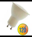 LED Spotlight -  6W GU10 plastic alb cald VT-1870