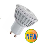 LED Spotlight - 5W GU10 Plastic - alb VT-1878