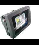 LED Proiector 10W V-TAC Clasic, PREMIUM Reflector, grafit corp alb  cald , VT-4710