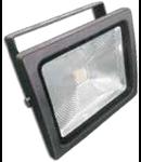 LED Proiector 30W V-TAC Clasic, PREMIUM Reflector, grafit corp alb cald VT-4730