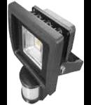 LED Proiector 30W V-TAC Senzor PREMIUM Reflector, alb cald, VT-4710PIR