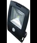 LED Proiector 30W V-TAC Design Senzor ,corp grafit,  alb, VT-4430PIR