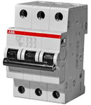 Siguranta automata tripolara 25A 4.5ka SH203L-C 25 ABB