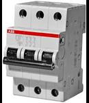 Siguranta automata tripolara 63A 6ka S203-C 63 ABB
