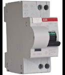 Siguranta automata bipolara cu protectie diferentiala 6A 30mA DS951 AC-C6/0,03A ABB