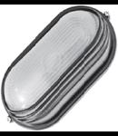 Lampa exterior cu grila 1x max100W, E27/IP54/ Negru, TG-3201.06