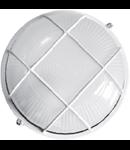 Lampa exterior cu grila 1x max 60W, E27/IP54/ Alb, TG-3201.11