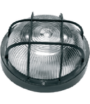 Plafoniera 1x max 60W, E27/IP44/ Negru, 2602A