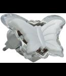 Lampa de veghe cu led, 3 x 0.1W, galben, TG-3111.023012