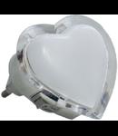 Lampa de veghe cu led, 3 x 0.1W, rosu, TG-3111.043011