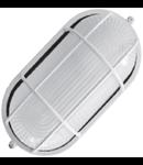 Lampa exterior cu grila 1x max 100W , E27/IP54/ Alb, TG-3201.005