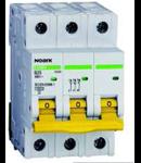 Siguranta automata tripolara 4.5kA 6A C Noark