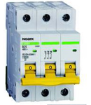 Siguranta automata tripolara 20 kA 80A C Noark