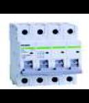Siguranta automata tetrapolara 4.5 kA 6A C Noark