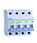 Siguranta automata tetrapolara 4.5 kA 25A C Noark