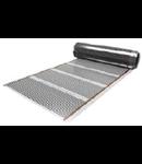 Folie rola pentru incalzire pardoseli lemn/parchet laminat, Magnum, fara termostat, 120W/m, 0,6 x ? m