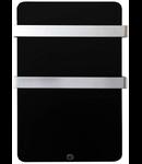 Panou radiant MAGNUM Glassheat Bathroompanel 400W 48x84x14cm negru, termostat inclus