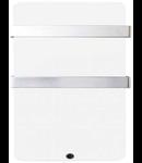 Panou radiant MAGNUM Glassheat Bathroompanel 600W 48x109x14cm alb, termostat inclus