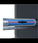 Cablu autoreglabil alimentare, MAGNUM Trace Plug & Go, 2m, cu termostat,  conector mama si capac final