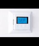 K12- Ceas digital cu termostat, senzor de podea 16A/230V - functie cronotermostat