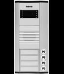 Panou exterior Audio, pentru 4 familii, 244mm