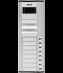 Panou exterior Audio, interfon  pentru 4 familii, 320 mm