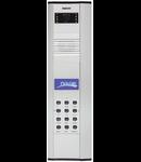 Panou exterior Audio, interfon  pentru 4 familii, 396 mm