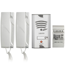 KIT VILA AUDIO 4+N fire, set telefoane uz casnic, 3 receptoare, 1 buton