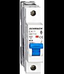 Intreruptor automat modular MCB, AMPARO 6kA, C 4A, 1-pol