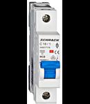 Intreruptor automat modular MCB, AMPARO 6kA, C 16A, 1-pol