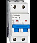 Intreruptor automat modular MCB, AMPARO 6kA, C 6A, 1P+N