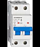 Intreruptor automat modular MCB, AMPARO 6kA, C 25A, 1P+N