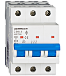 Intrerupator automat tripolar MCB, AMPARO 6kA, C 50A,  3P