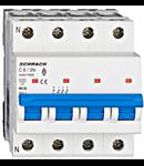 Intrerupator automat tetrapolar MCB, AMPARO 6kA, C 6A, 3P+N