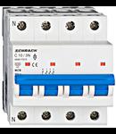 Intrerupator automat tetrapolar MCB, AMPARO 6kA, C 10A, 3P+N