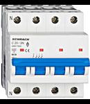 Intrerupator automat tetrapolar MCB, AMPARO 6kA, C 20A, 3P+N