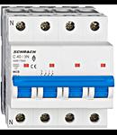 Intrerupator automat tetrapolar MCB, AMPARO 6kA, C 40A, 3P+N