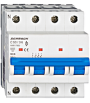 Intrerupator automat tetrapolar MCB, AMPARO 6kA, C 50A, 3P+N
