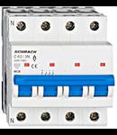Intrerupator automat tetrapolar MCB, AMPARO 6kA, C 63A, 3P+N