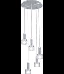 Lampa suspendata Fabiana,5x33w