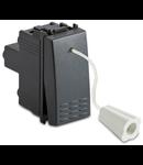 Buton tip 1P NA 16A 250V~, cu cablu 2.25m, gri