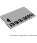Card ISO pentru intrerupator electronic tip insigna, alb