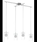 Lampa suspendata Lamas,4x33w