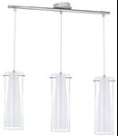 Lampa suspendata PINTO chrome 220-240V,50/60Hz IP20